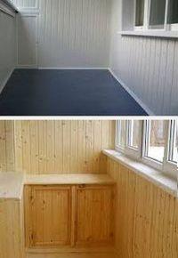 чем отделать балкон