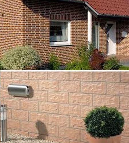 отделка фасадов клинкерной плиткой