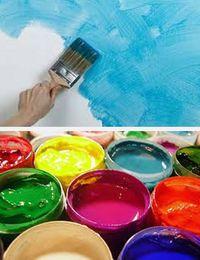 как красить водоэмульсионкой
