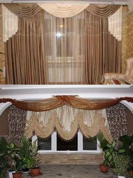 как декорировать окна в квартире