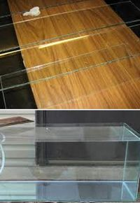 как склеить стекло