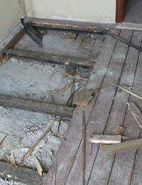 как ремонтировать деревянный пол