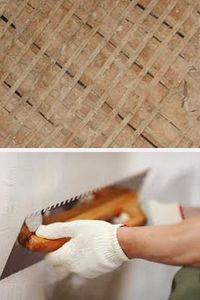 оштукатуривание стен деревянного дома