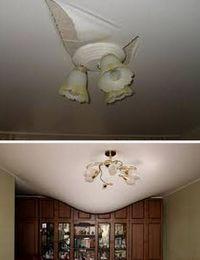 проблемы с натяжными потолками