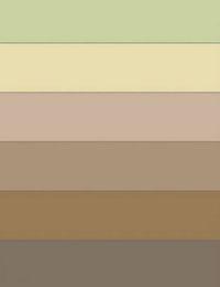 варианты цвета в интерьере