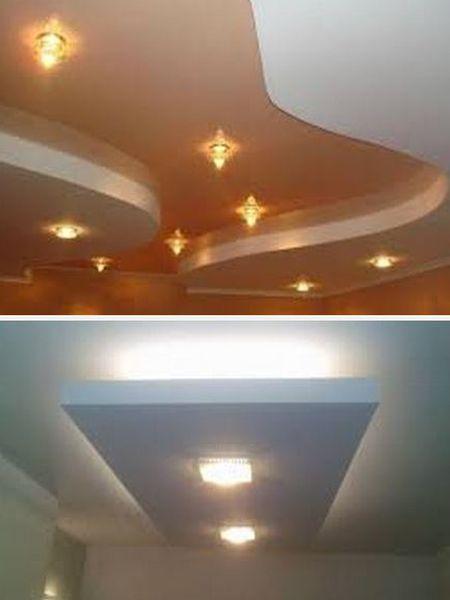 интерьер с подвесным потолком