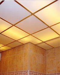 потолки из оргстекла с подсветкой