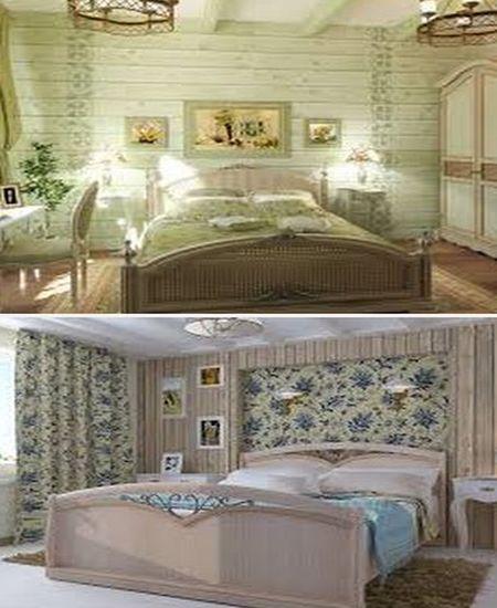 интерьер в стиле прованс для спальни