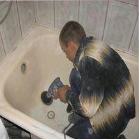 реставрация эмали ванны