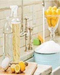 как помыть посуду без химии