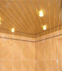 какие потолки лучше для ванной