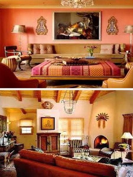 стиль интерьера марокко