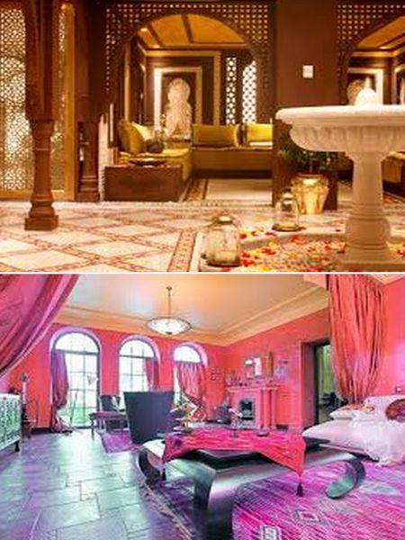 декор интерьера в стиле марокко