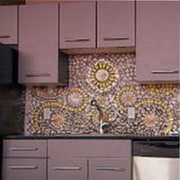мозаика для фартука на кухню