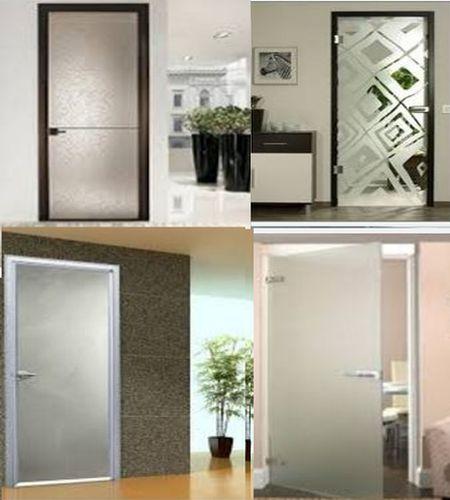 стеклянные двери в квартире, доме