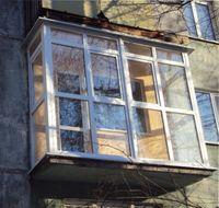 французское окно в квартире