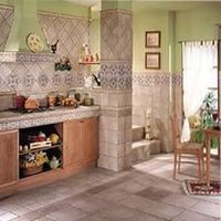 цвет плитки на кухню
