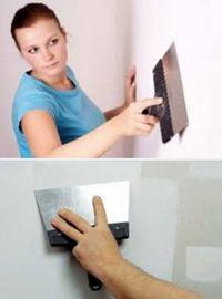 последовательность шпаклевки стен