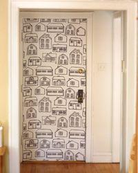декорирование дверей