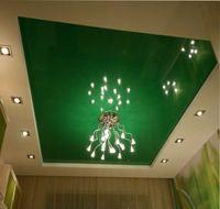 потолки с точечными светильниками