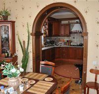 арка между кухней