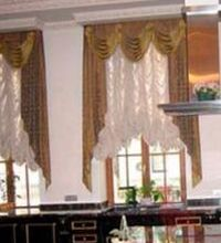окна с французскими шторами