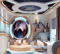 детская комната космос