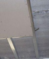 крепление гипсокартона на металлический каркас