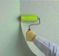 как клеить стеклообои