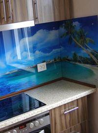 панели из стекла для кухни