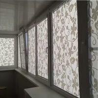 штора для балконного окна