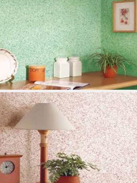 мозаичная краска для отделки стен