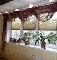 балконные занавески