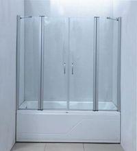 шторка из стекла в ванной