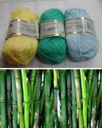 нити из бамбука