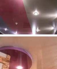 как выбирать натяжной потолок