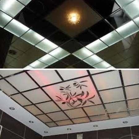 кассетные потолки в ванной комнате