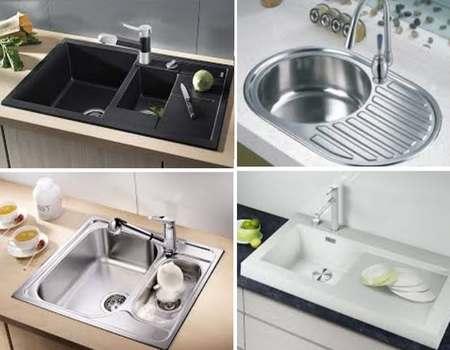 варианты кухонных моек