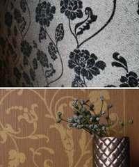 ковровые обои в интерьере