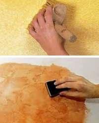 как покрасить штукатурку