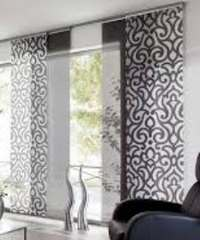 японские шторы-панели для дома