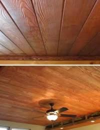 как сделать деревянный потолок