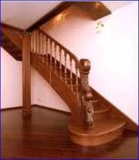 какие бывают лестницы в деревянном доме