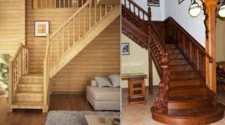 маршевые лестницы в доме