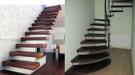 лестница в доме на больцах