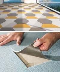 ковровая плитка, укладка