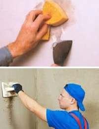 как клеить обои на крашенные стены