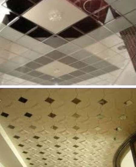 керамическая плитка для потолка