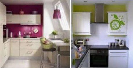какой интерьер выбрать для маленькой кухни
