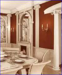 интерьер в античном стиле